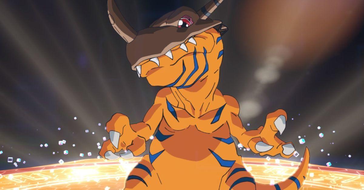 Digimon Adventure Greymon Evolution Scene