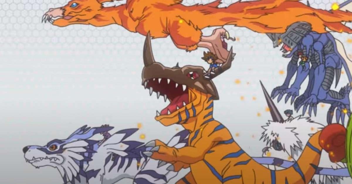 Digimon Digital Monsters Anime Promo Evolution