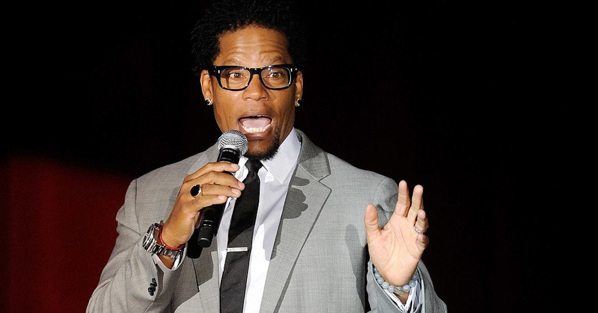DL Hughley passed out