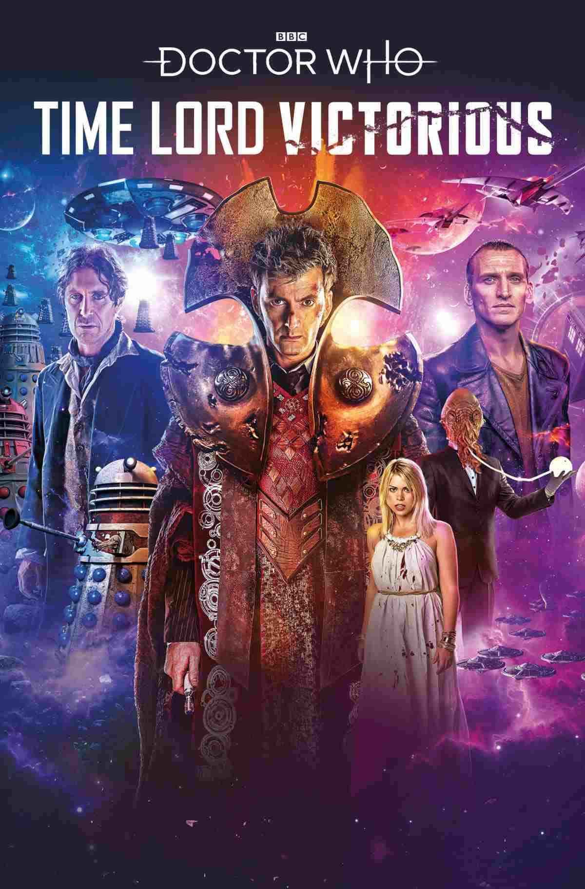 DOCTOR WHO TIME LORD VICTORIOUS #1 COVER A LEE BINDING