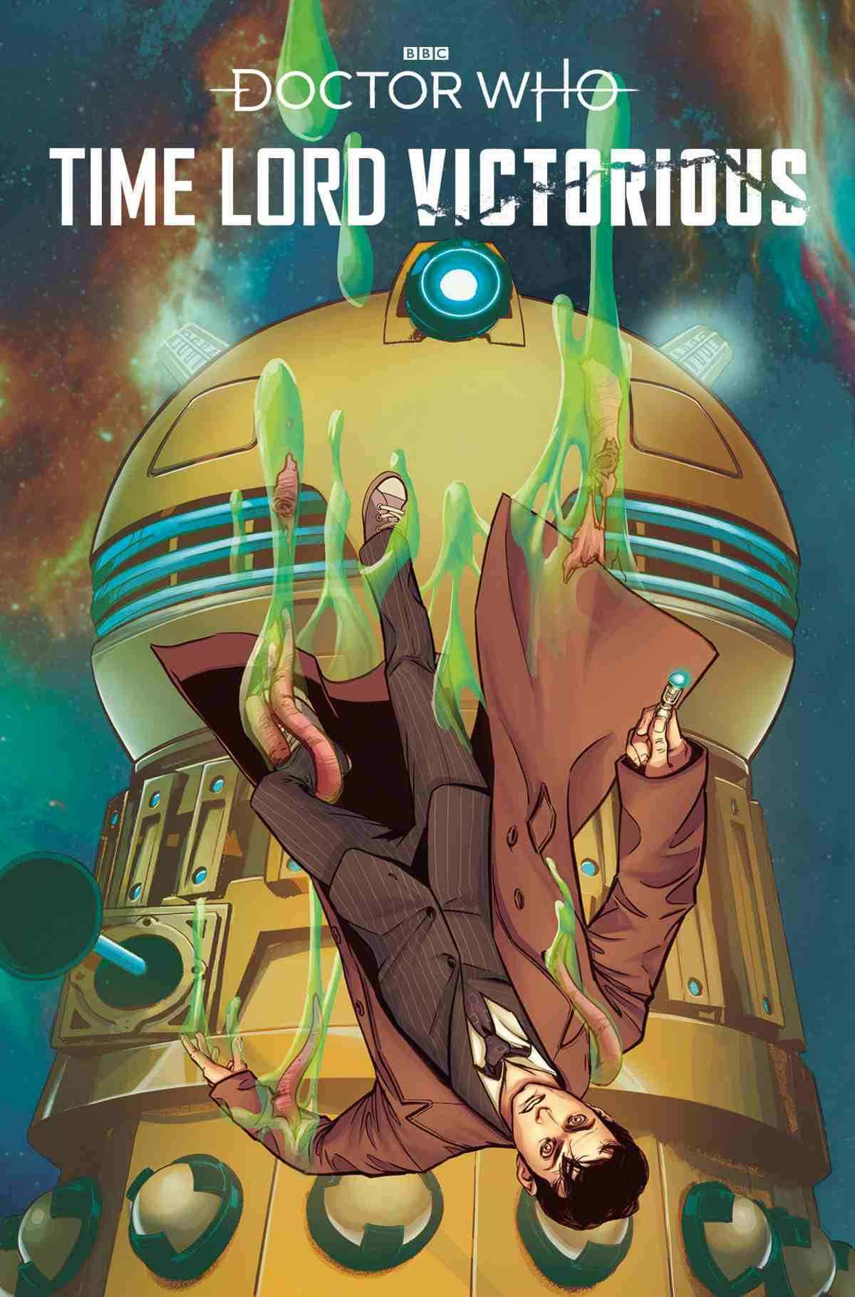 DOCTOR WHO TIME LORD VICTORIOUS #1 COVER B PRISCILLA PETRAITES