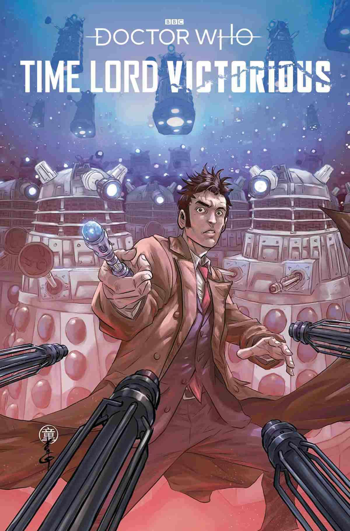 DOCTOR WHO TIME LORD VICTORIOUS #1 COVER C ANDIE TONG