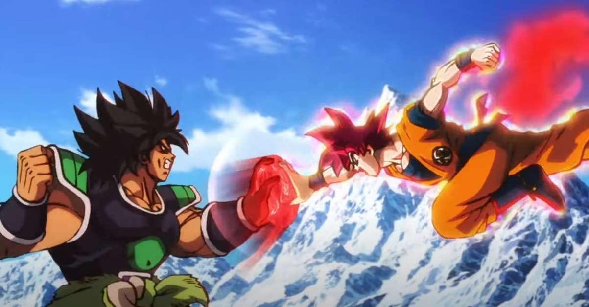 Dragon Ball Super Broly Goku Brutal Fight