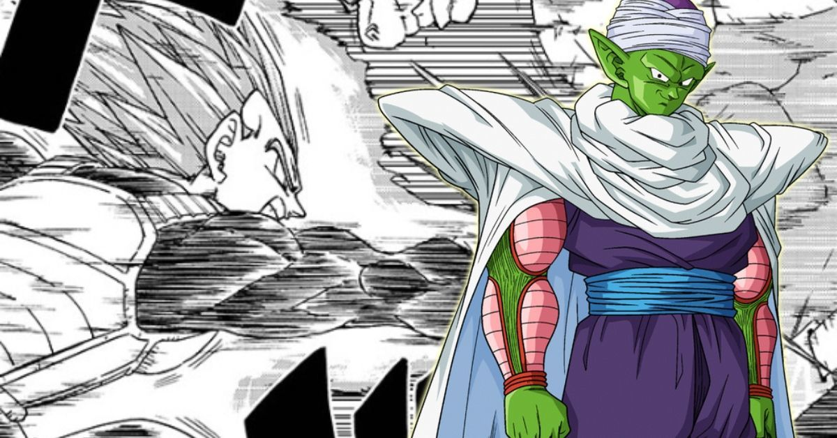 Dragon Ball Super Piccolo Vegeta Error Manga