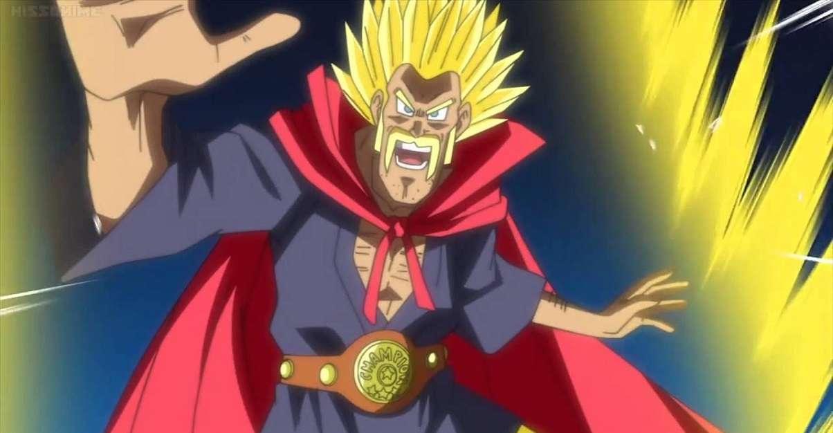 Dragon Ball Super Saiyan Hercule