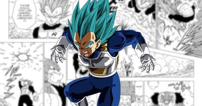 Dragon Ball Super Vegeta Fusion Reversal Spirit Fission Power