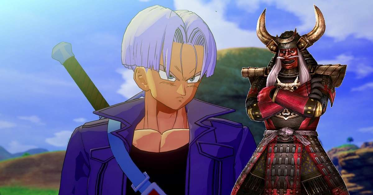 Dragon Ball Z Future Trunks Samurai