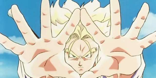 Dragon Ball Z Future Trunks Stop Motion