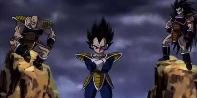 Dragon Ball Z Vegeta Nappa Raditz