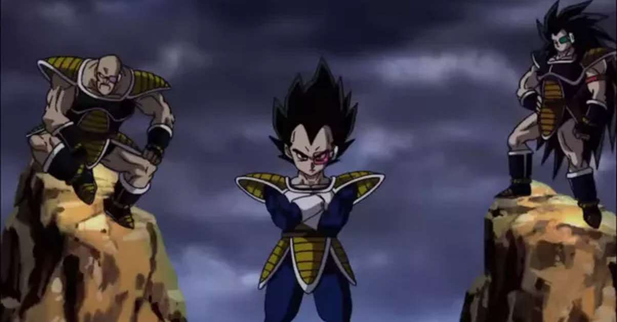 Dragon Ball Z Vegeta Nappa Raditz