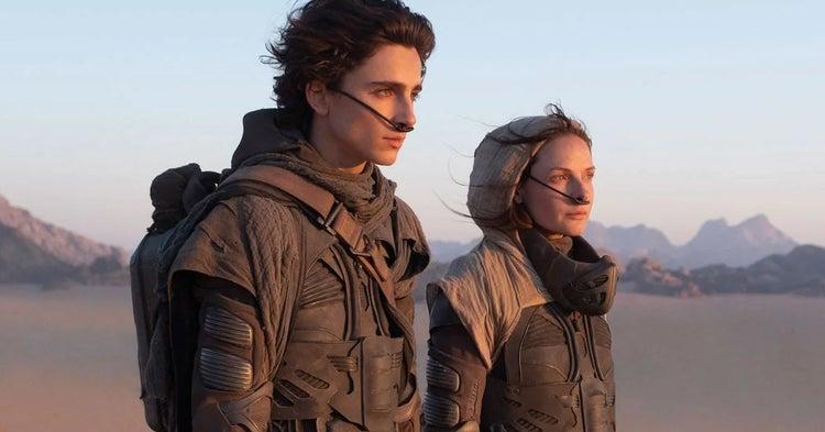 dune movie reboot 2020 timothee chalamet rebecca ferguson