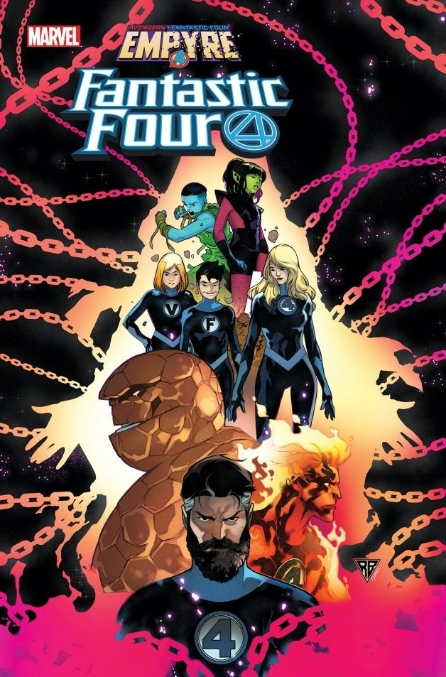 Empyre Fantastic Four 1 cover