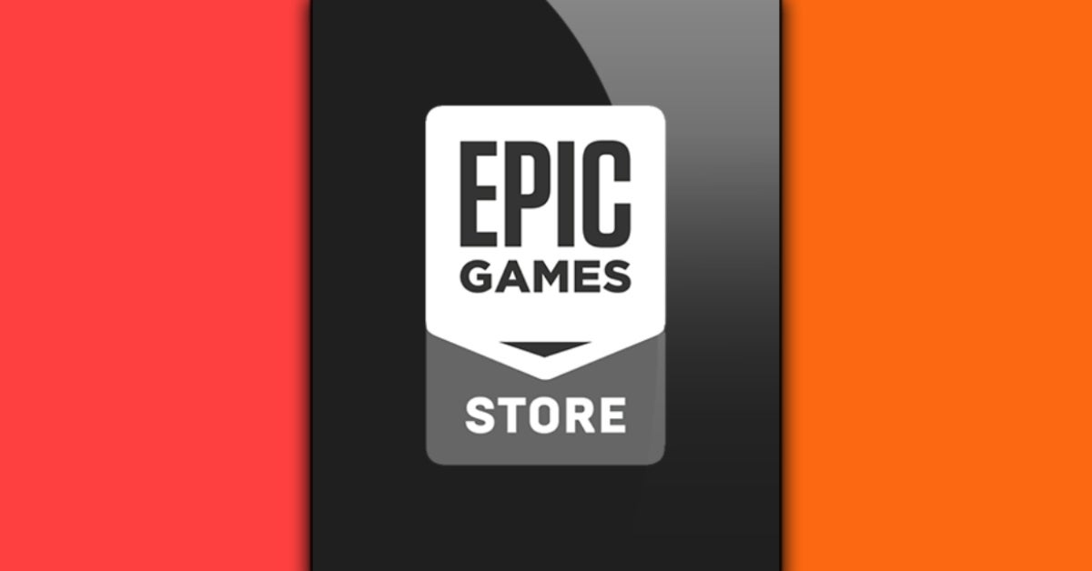 epic games store orange and red