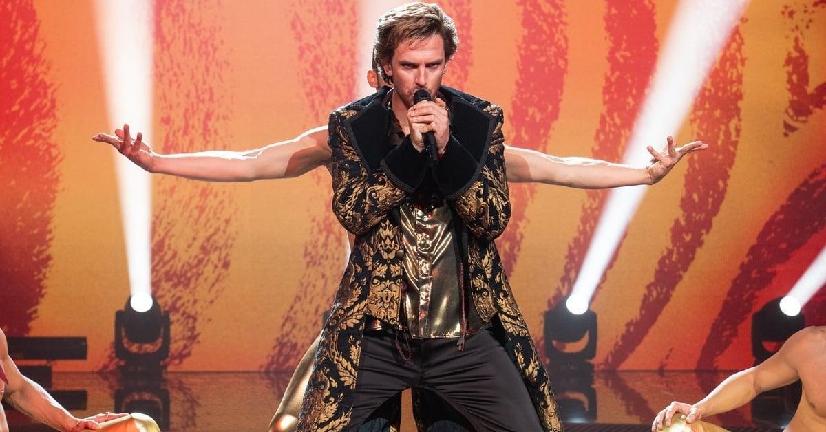 eurovision song contest dan stevens