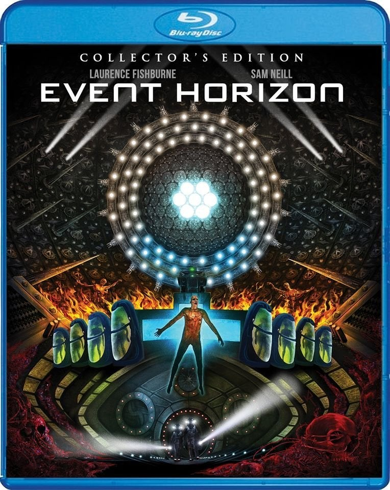 event horizon blu ray cover