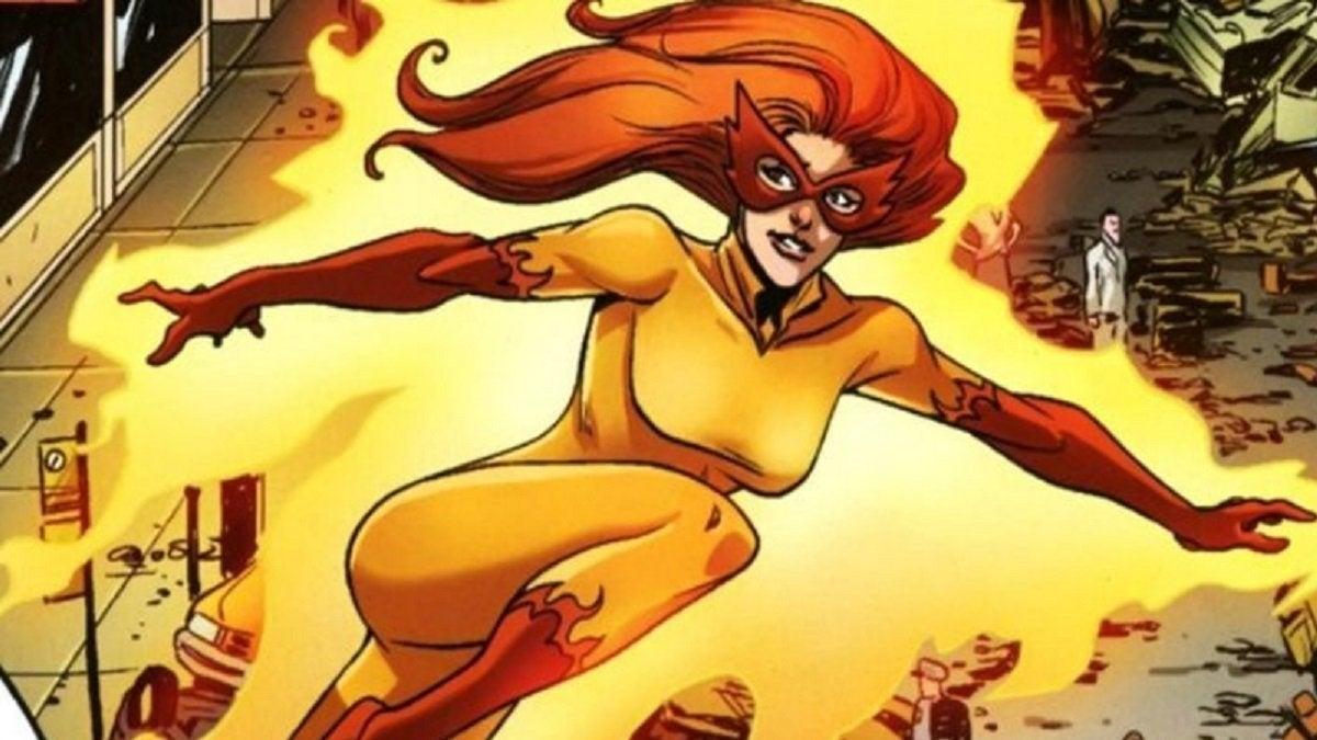 firestar marvel comics