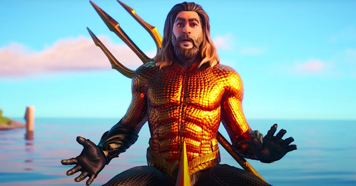 fortnite aquaman skin