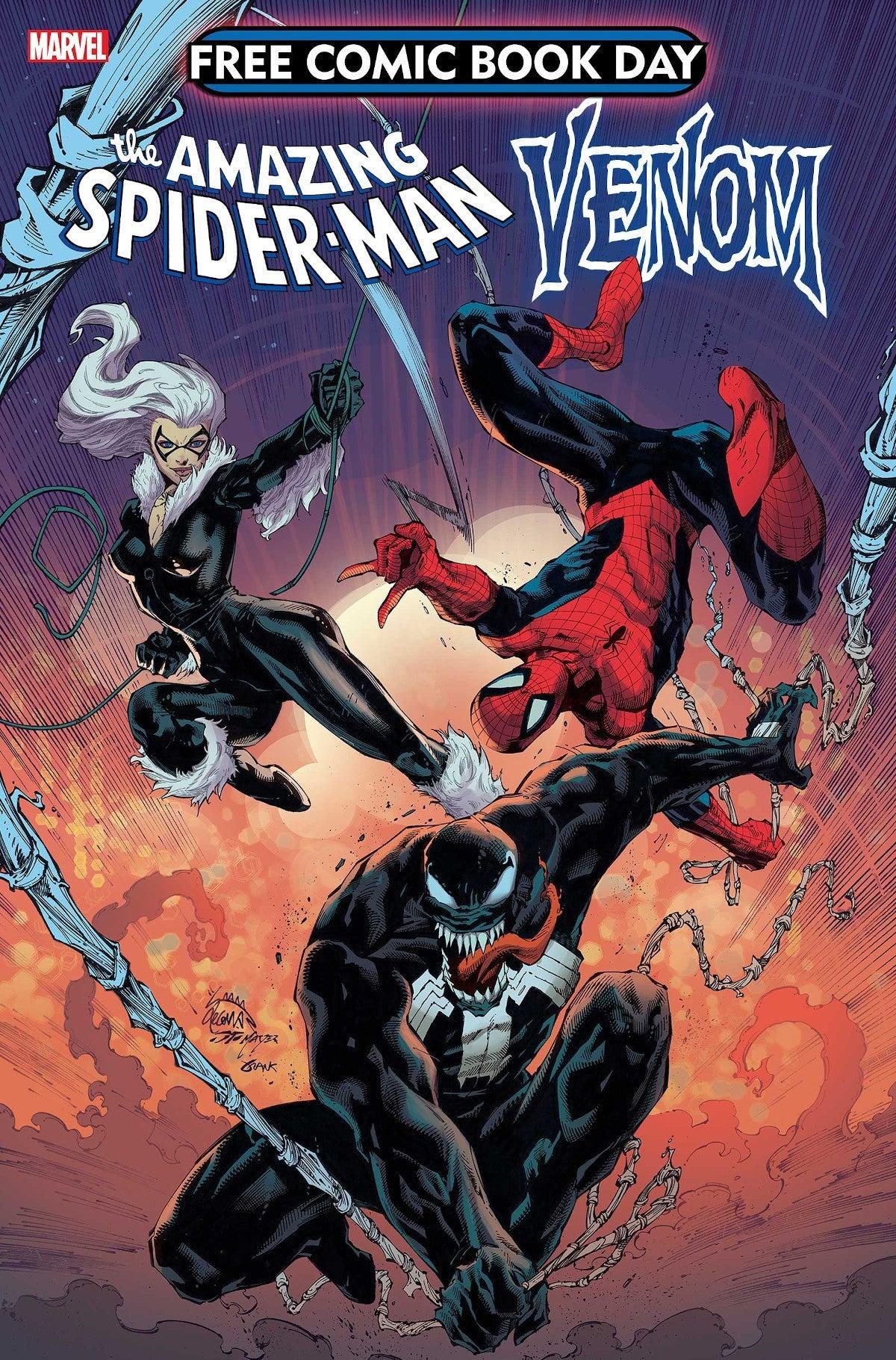 Free Comic Book Day Spider-Man Venom_2020