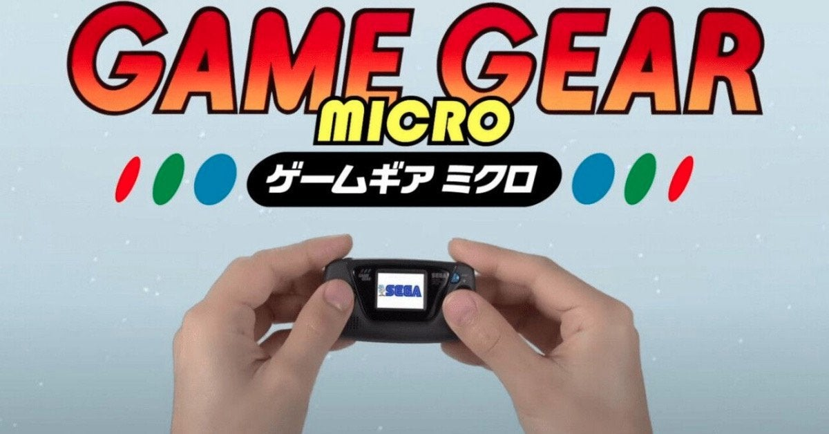 Game Gear Micro Hands