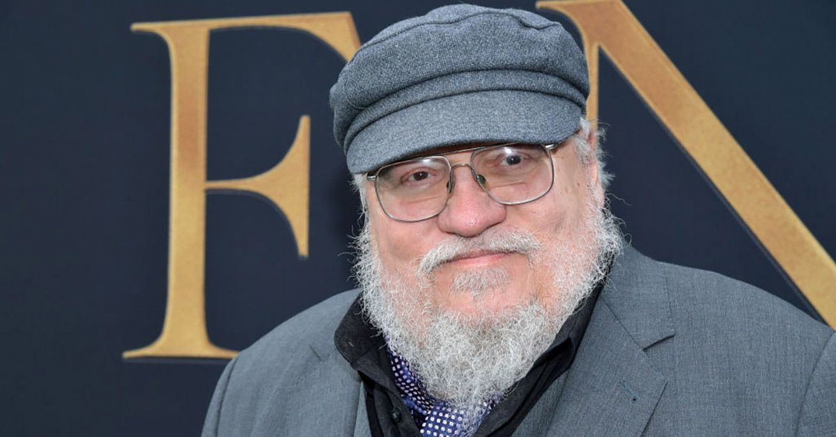 george rr martin getty images