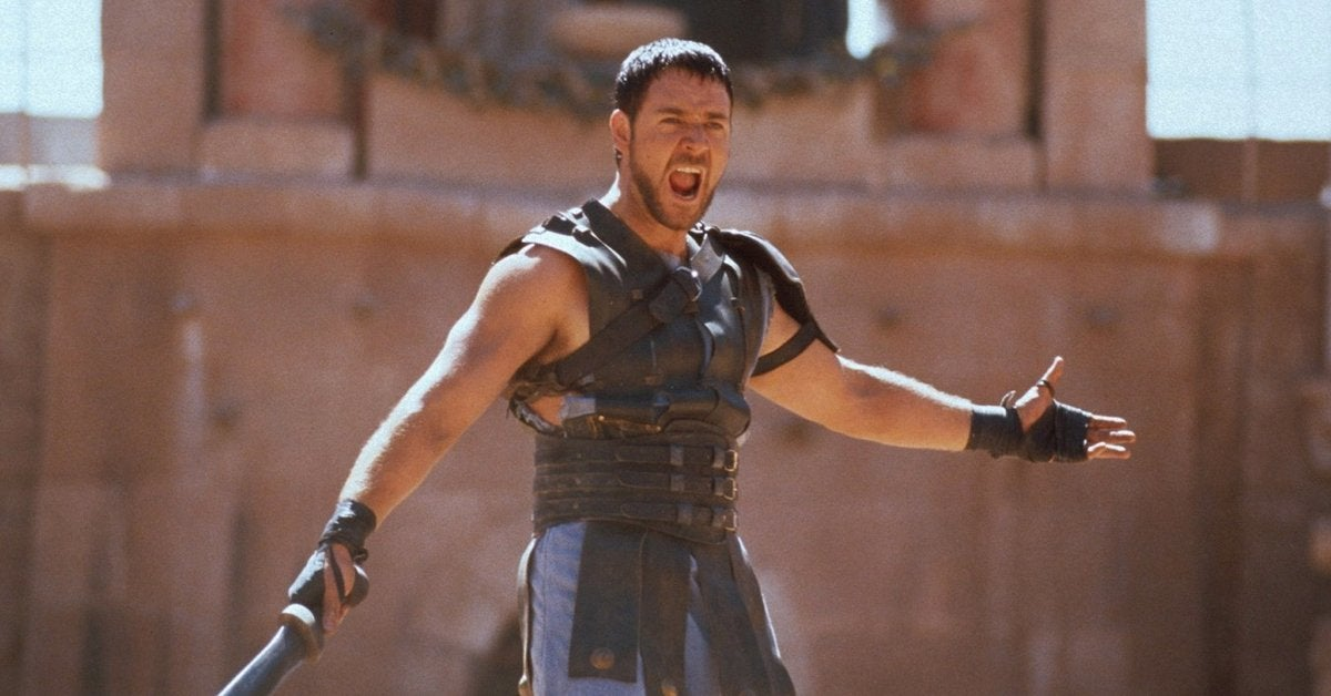 gladiator movie russell crowe maximus 2000