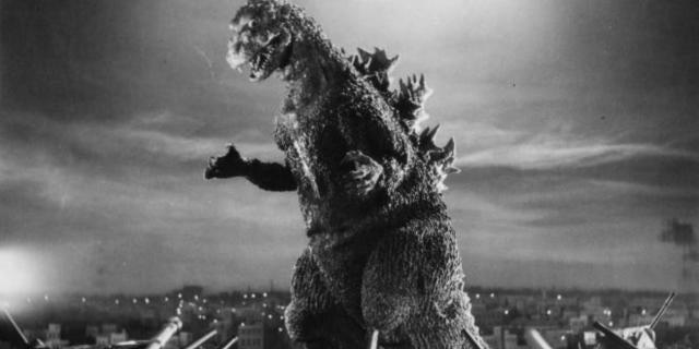 Godzilla 1954 Showa Era
