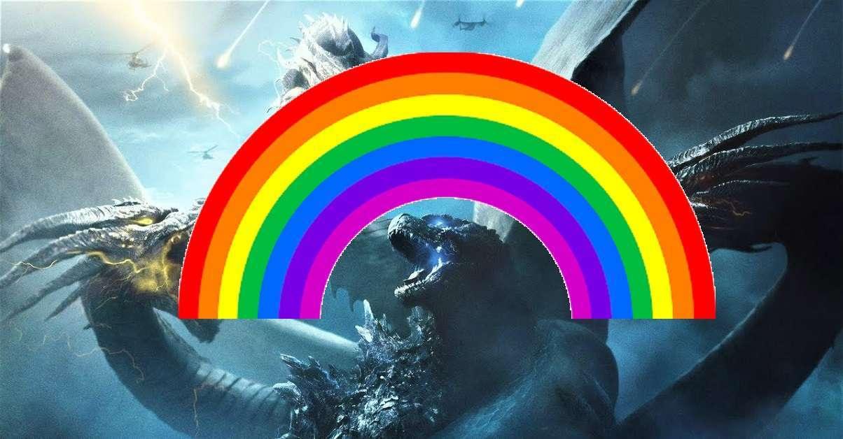 Godzilla Pride Month Short