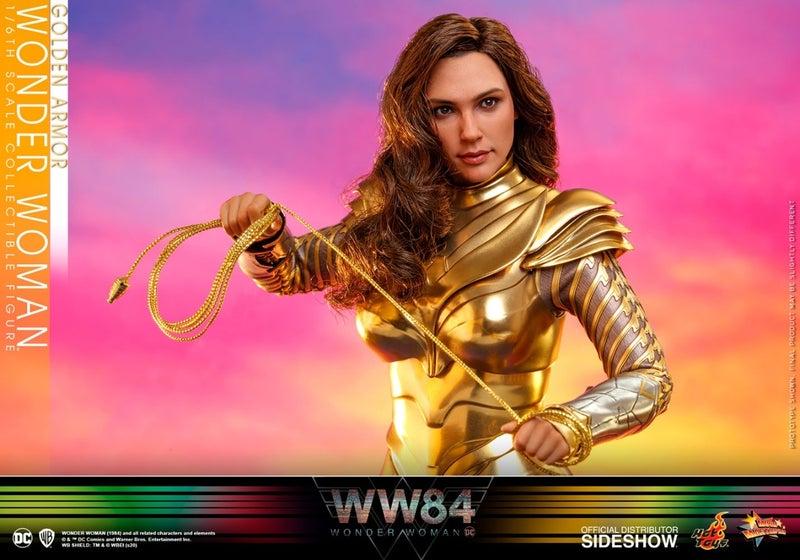 Wonder Woman 1984's Golden Eagle Armor Gets Epic Hot Toys Figure