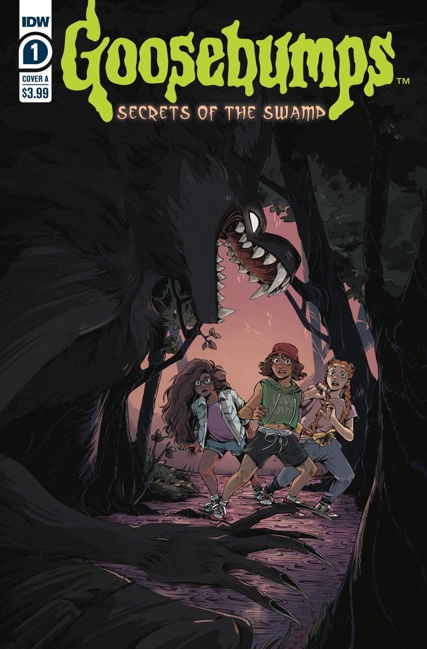 goosebumps secrets of the swamp cova a