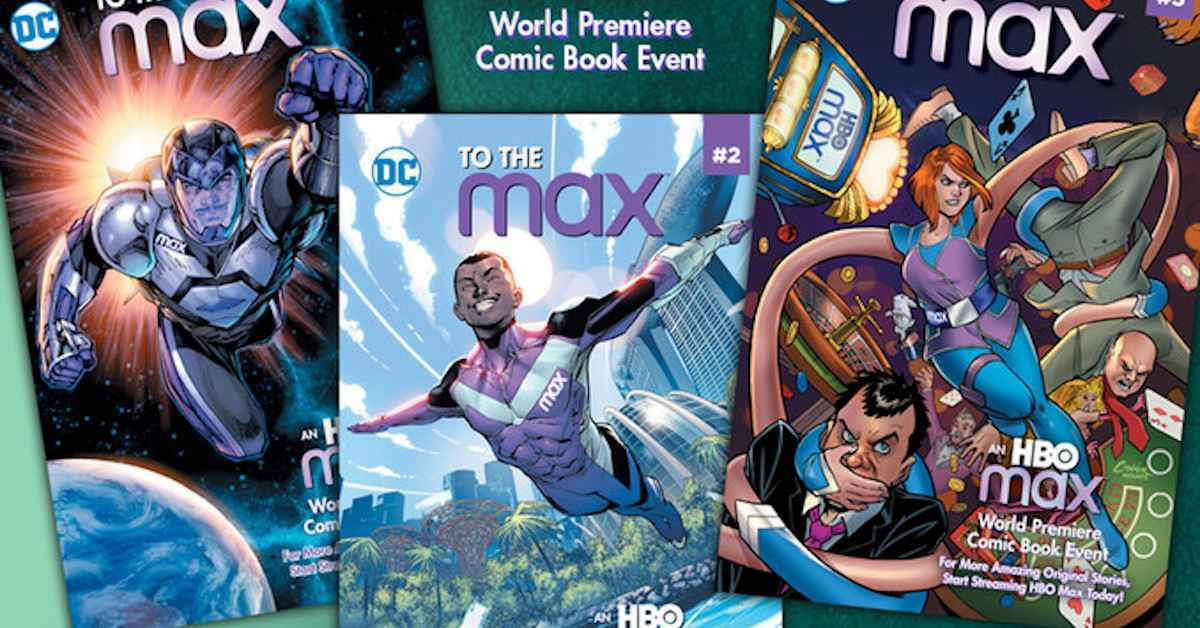 HBO Max To the Max DC Comics