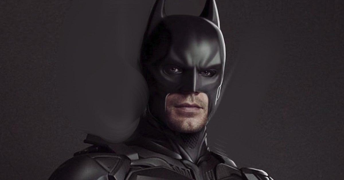 Henry Cavil Batman fan Art by HouseofMat