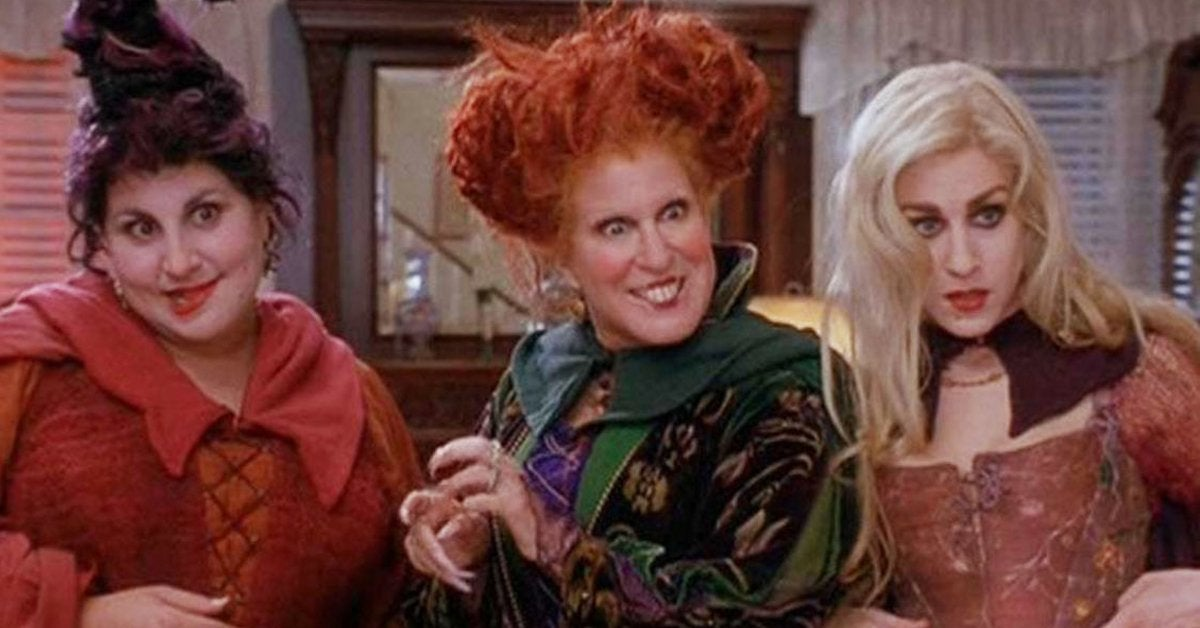 hocus pocus movie 1993 bette middler sanderson sisters