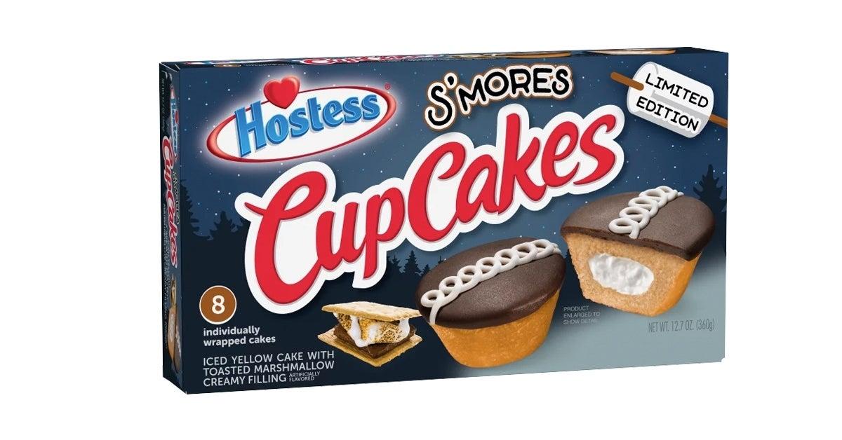 hostess smores cupcakes