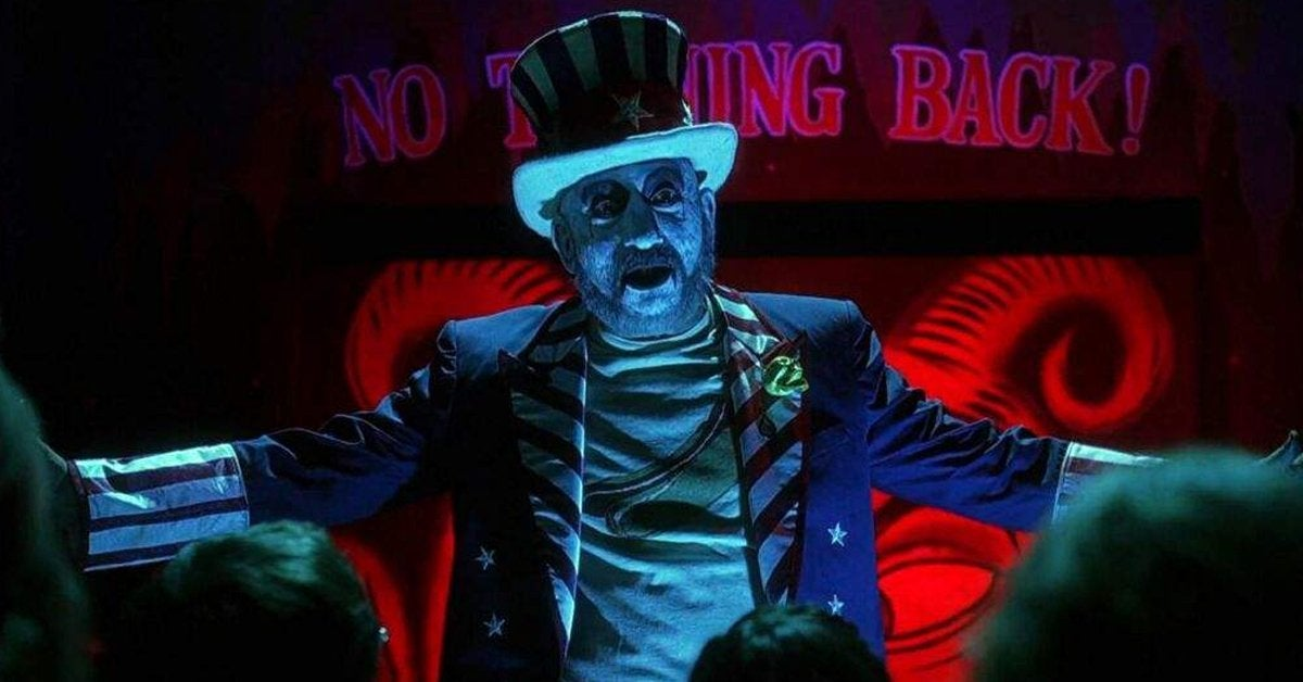 house of 1000 corpses captain spaulding sid haig