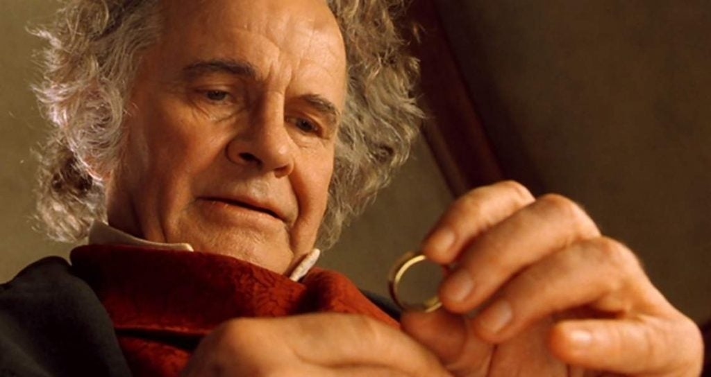 ian holm bilbo baggins lord of the rings