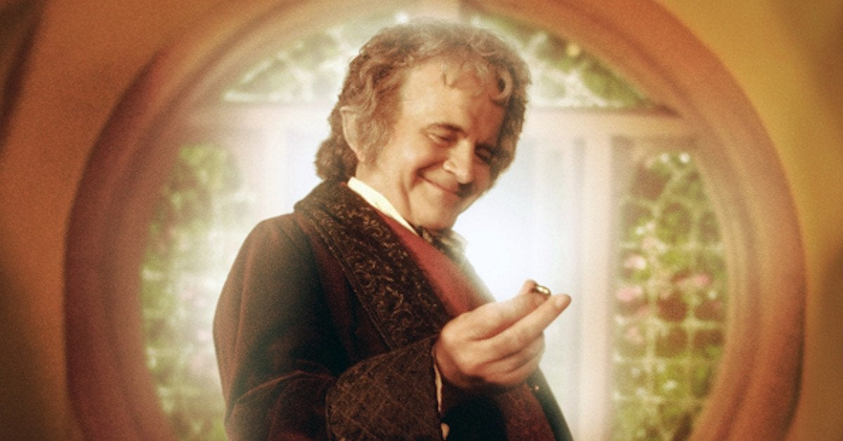 Ian Holm Death Bilbo Baggins Peter Jackson Lord of the Rings
