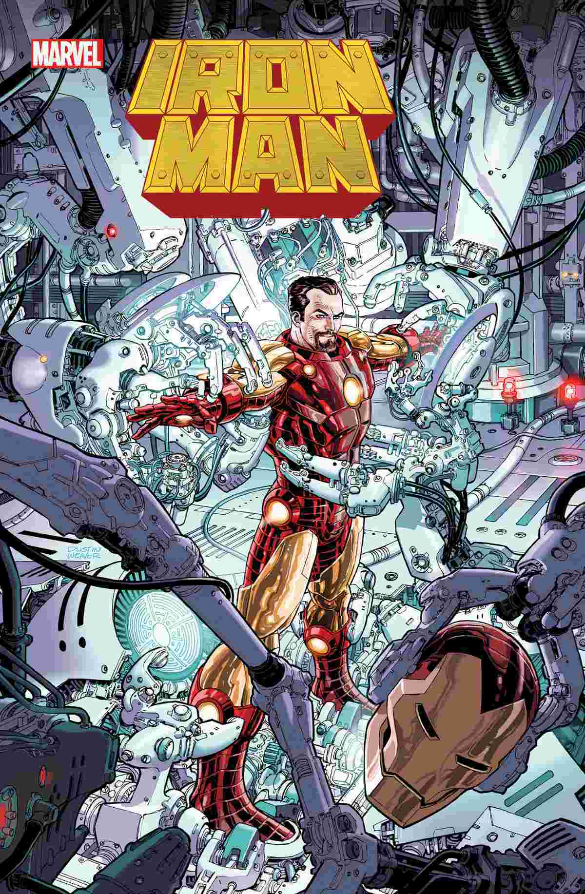 Iron Man #1 2020 Dustin Weaver Variant Cover