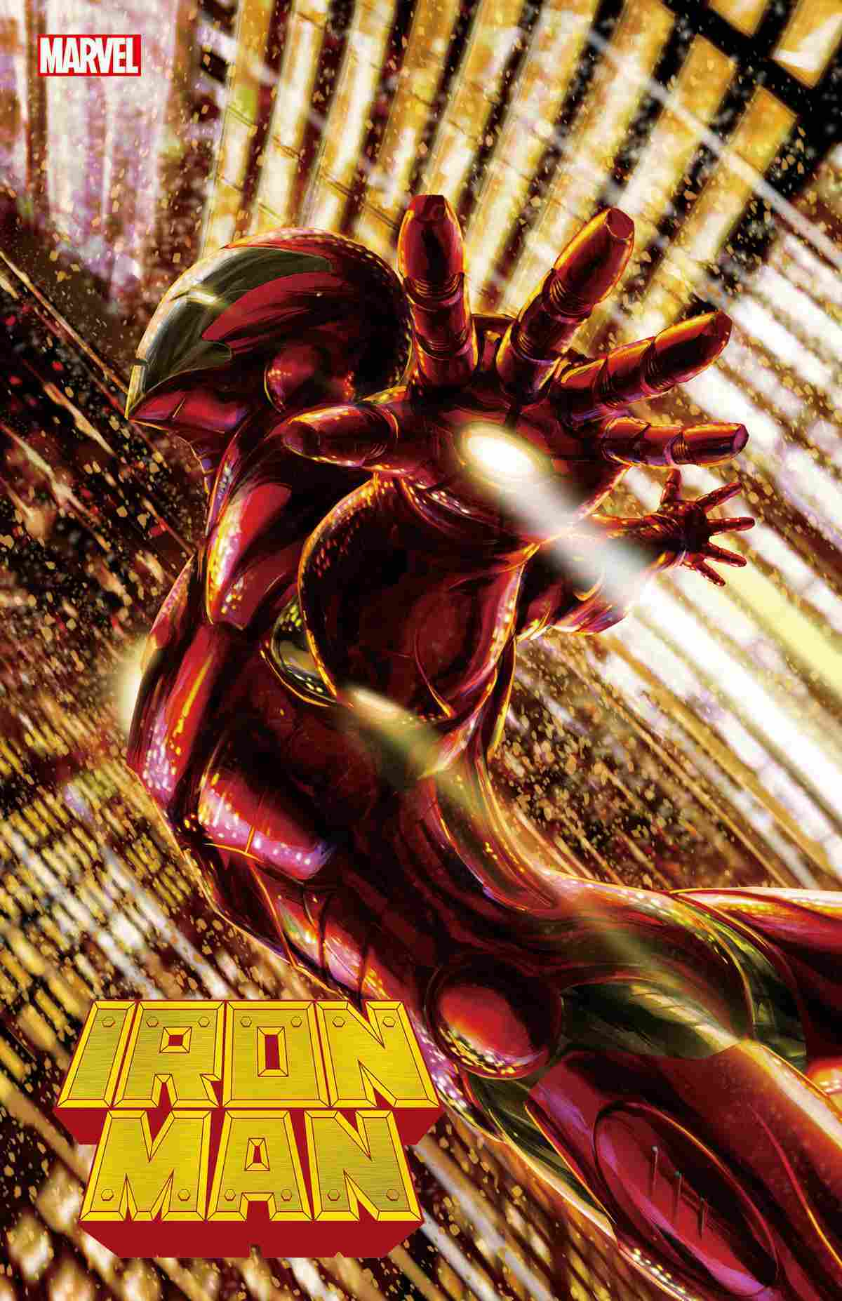 Iron Man #1 2020 Tenjin Variant Cover