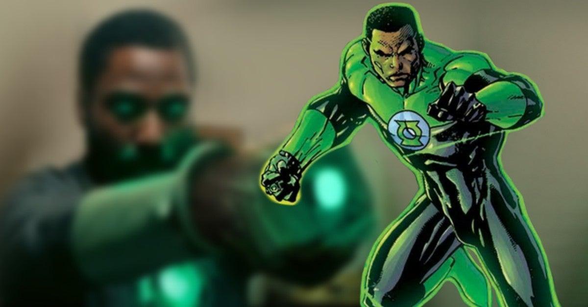John David Washington as Green Lantern John Stewart Concept Artwork BossLogic