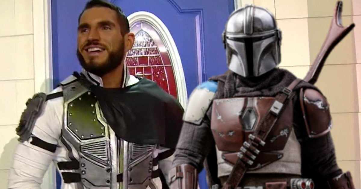 Johnny Gargano Mandolorian Star Wars WWE NXT TakeOver In Your House