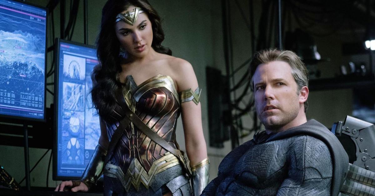 Justice League Batman Ben Affleck Wonder Woman Gal Gadot
