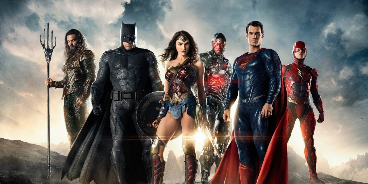 justice league promo poster