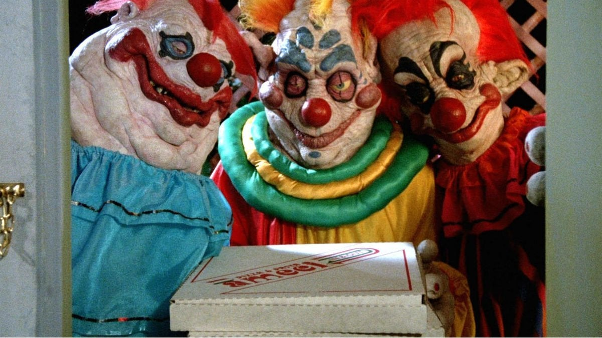 killer klowns from outer space movie 1988 pizza