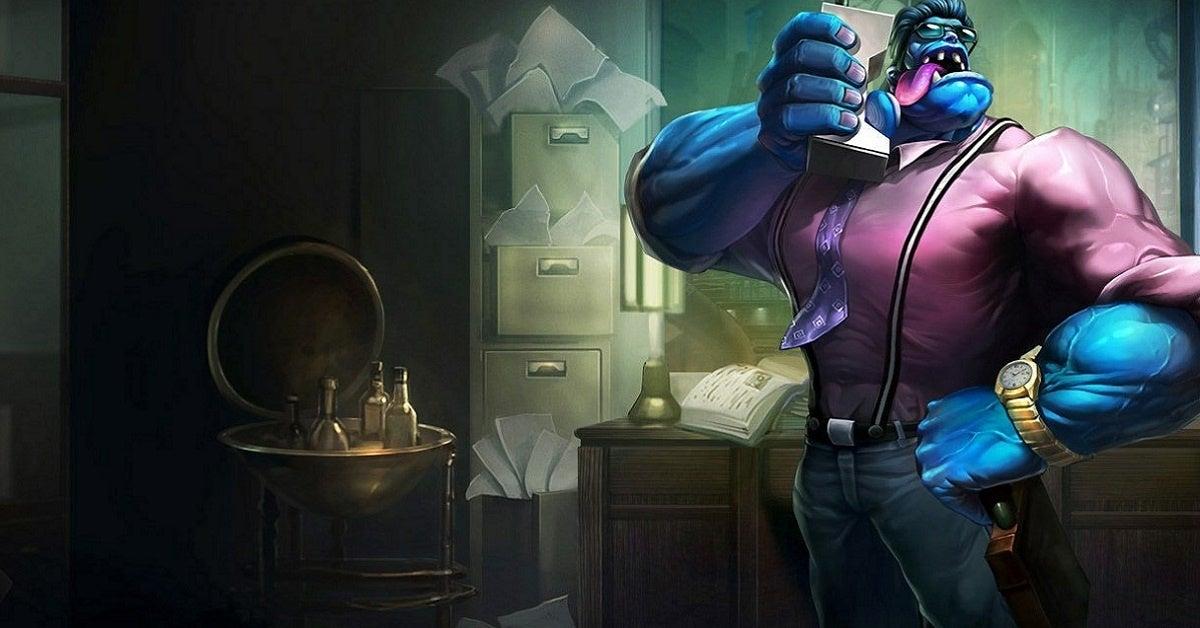League of Legends Dr Mundo