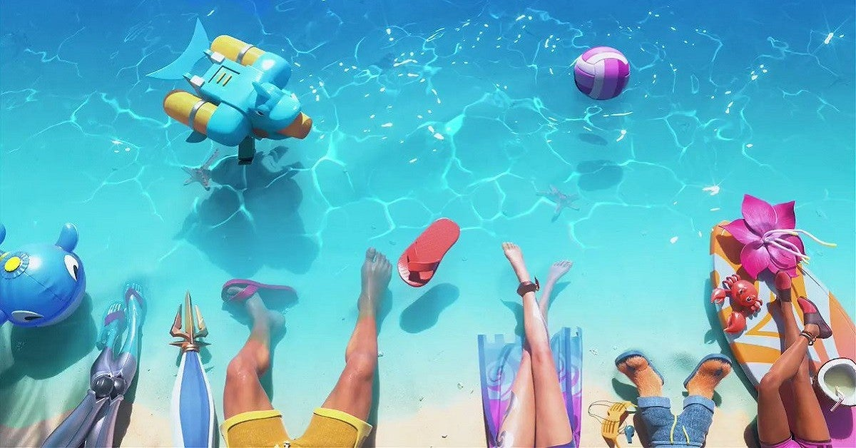 League of Legends Pool Party Skins