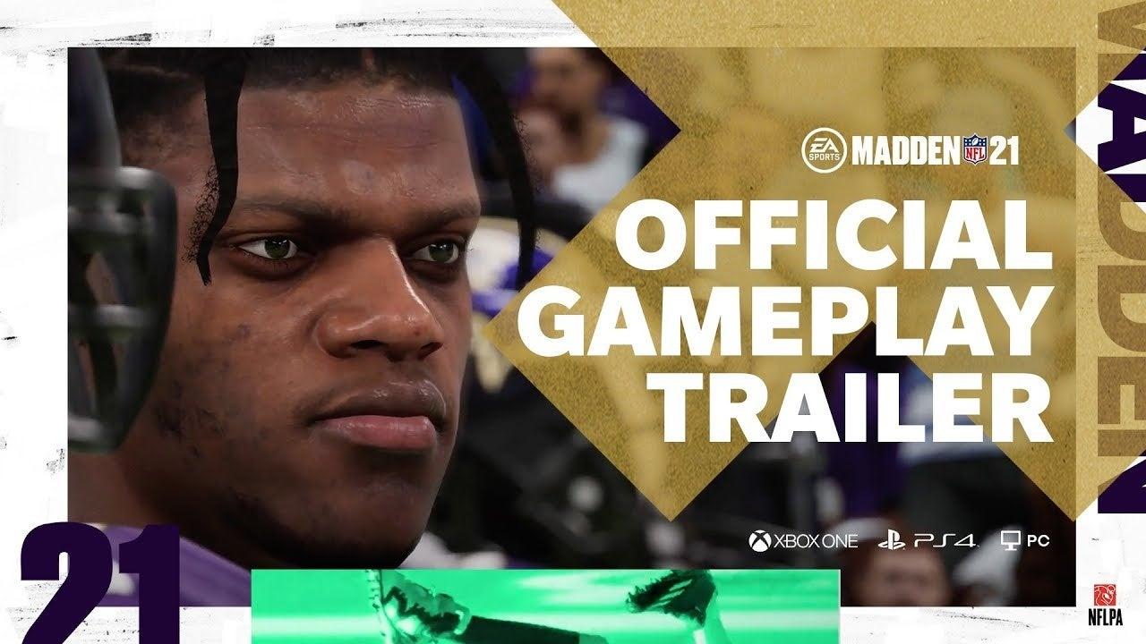 madden nfl 21 gameplay trailer