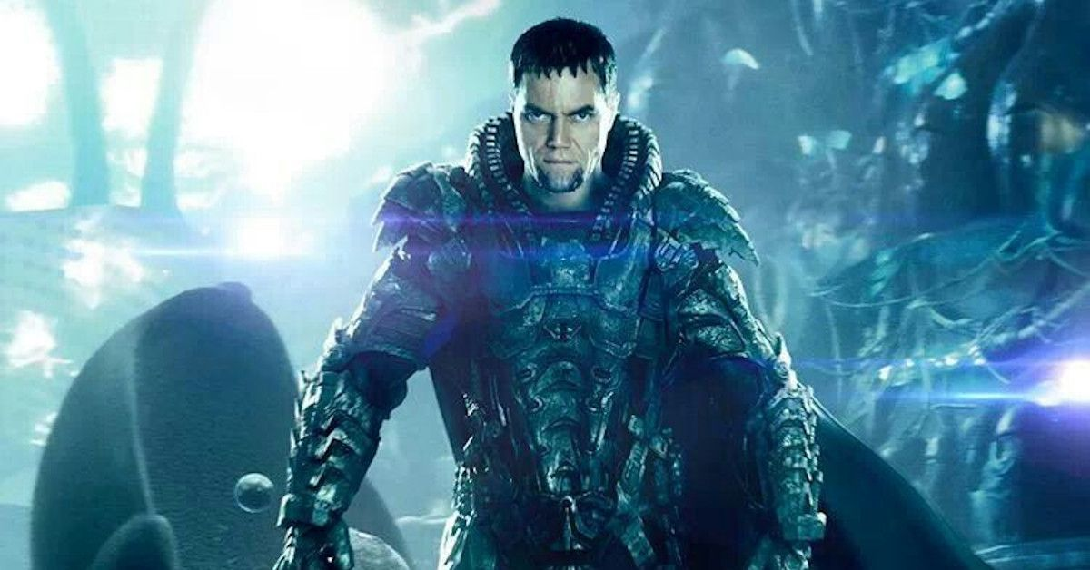 Man of Steel Zod Michael Shannon Zack Snyder's Justice League