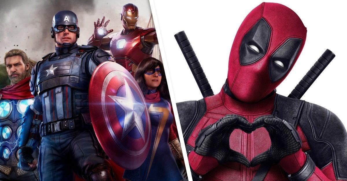 marvel's avengers deadpool