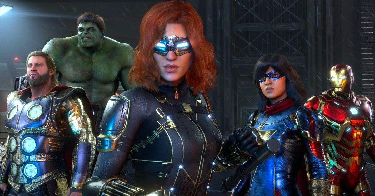 marvel's avengers stark tech suits