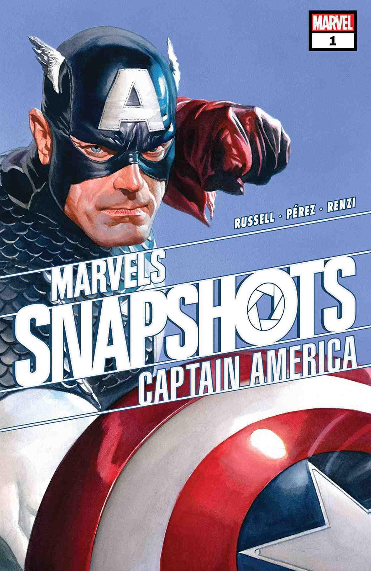 Marvel Snapshots Captain America
